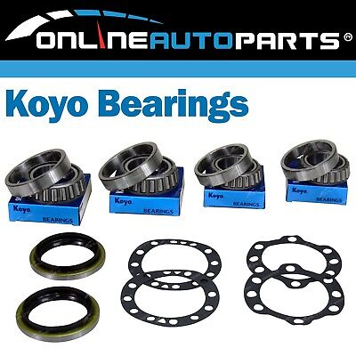 Rear Wheel Bearing+Seal Kits suits Toyota 70 80 Series w/Rear Disc Brake 90~07
