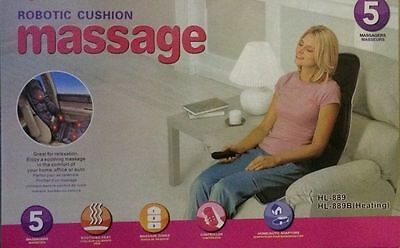 Heated Back and body muscle  Massager Car seat Sofa recliner Christmas backache