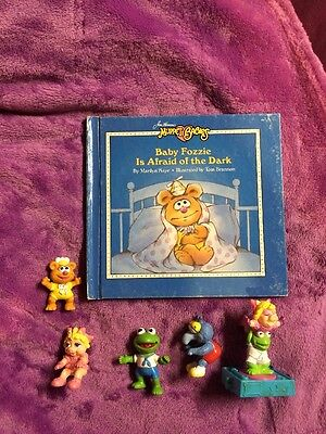 MUPPET BABIES BOOK AND TOY LOT OF 6 COOL VINTAGE TEACH YOUR CHILD TO READ WOW!!!