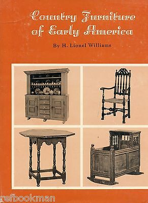 Antique Early American Country Furniture incl. Construction Techniques / Book