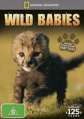 National Geographic - Wild Babies - DVD Region 4 Free Shipping!