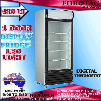 Eurotag Commercial 430Lt  Upright Display Drink  Fridge  Brand New