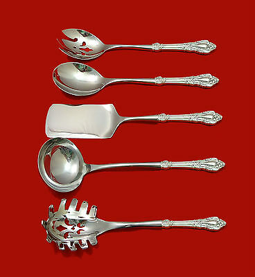 Eloquence by Lunt Sterling Silver HHWS  Hostess Set 5pc Custom Made