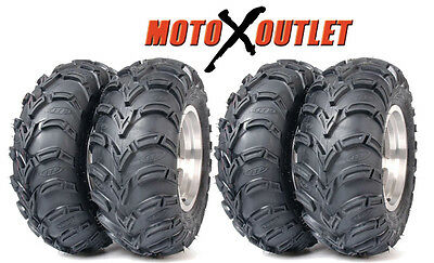 Kawasaki Brute Force 750 Tires Atv ITP Mudlite set of 4