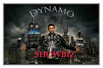 * Dynamo * Magician Impossible * Large Quality Signed Autograph Photo Print *