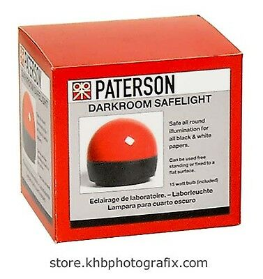 New Paterson Darkroom Safelight