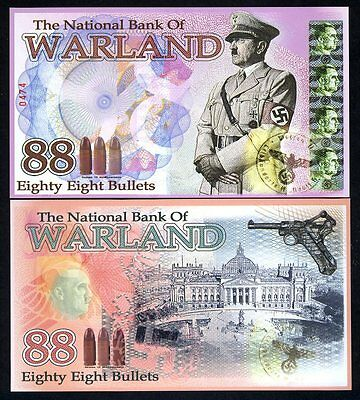 Warland, 88 Bullets, 2014, Polymer, UNC