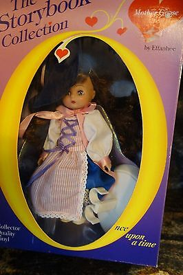 1980's Effanbee Doll-Mother Goose-Storybook Collection-NRFB- Witch Hat -SALE