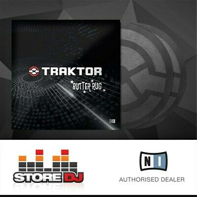 Native Instruments Traktor Butter Rug Slipmats (PAIR)