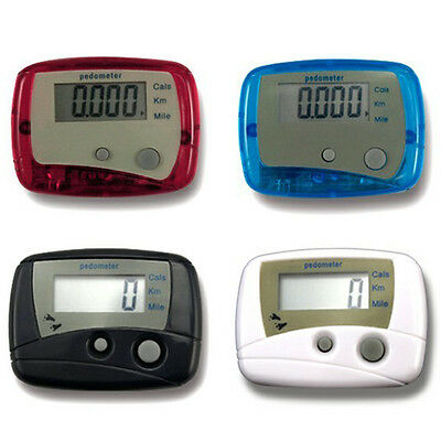 LCD Digital Step Pedometer Run Distance Calorie Walking Counter