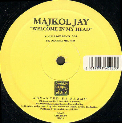 MAJKOL JAY  - Welcome In My Head - Chameleon Black