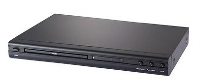 Alba 1620 Black Slim DVD Player CD MP3 Divx MULTI REGION C75