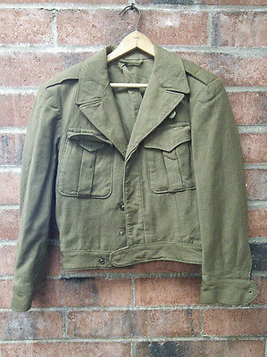 Wool OD Jacket 1946 Size Small AF 04-04