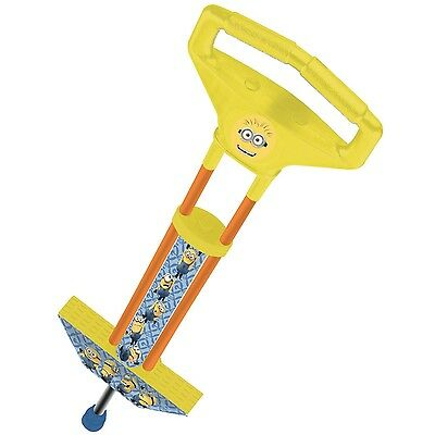 Despicable Me 2 Minion Made Pogo Jumper Stick Kids Outdoor Bounce Jump Toy New