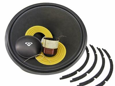 "Recone Kit for Cerwin Vega 189SW 18"" Woofer 8 Ohms Premium SS Audio Parts"