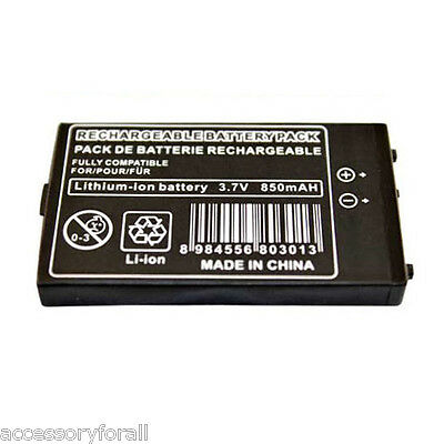 850mAh 3.7V Rechargeable Battery Pack + Tool Kit for Nintendo DS NDS Game