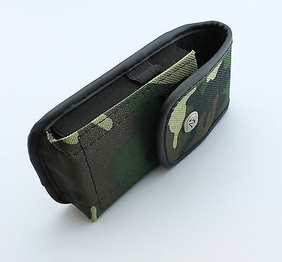 Rugged Heavy Duty Vertical Camouflage Belt Clip Case Cover Pouch fr Small Phones