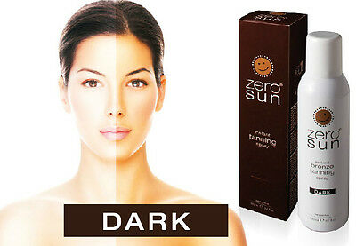 ZERO SUN Colore DARK Make up Abbronzatura spray Sun Tun 200ml On The Go Abbronza