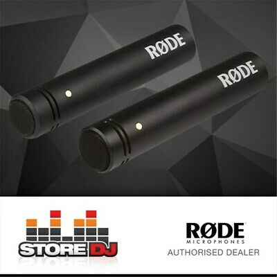 "Rode M5 Compact 1/2"" Condenser Microphone (Matched Pair)"