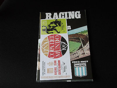 (Celtic) - 1967 Racing V Celtic - Intercontinental Cup Final Programme & Ticket