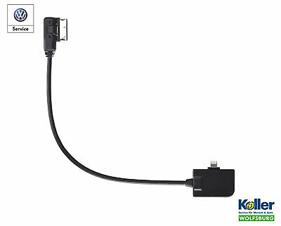 Original VW Adapter Media-In for Apple iPhone 6 / Plus Lightning Connector
