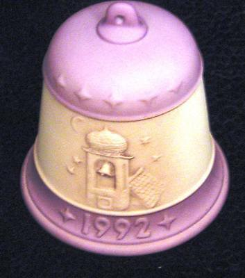 """M.I. Hummel 1992 Annual Christmas Bell Ornament """"Harmony in Four Parts"""""""