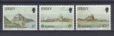 Jersey, Europa Cept 1978, Architecture Theme, Mnh