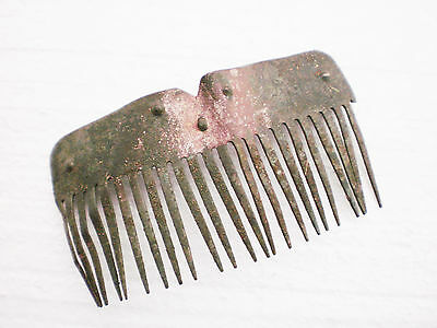 RARE ANCIENT Authentic Medieval COMB CREST circa 15 - 16 century AD
