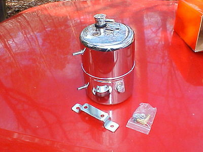 show chrome vacuum system reservoir tank,better brakes with big cams,rat rod