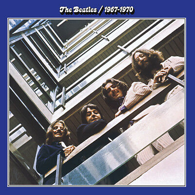 The Beatles 1967-1970 BLUE ALBUM 180g Gatefold 28 CLASSIC SONGS New Vinyl 2 LP