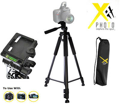"60"" Professional Tripod For Canon Sony Nikon Camera Free"