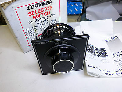 OMEGA - Thermcouple and RTD Selector Switch - 2 Position - SW142-2-B
