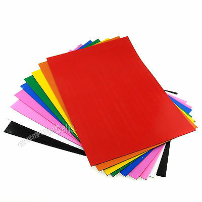 9 Colors 0.8mm A4 Size Magnetic Sheets Paper Flexible Cuttable For DIY Craft Art