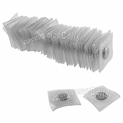 10pcs 12x2mm PVC Invisible Hidden Sew in Magnetic Snaps Magnet Purse Closure DIY
