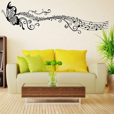 Modern Natural Removable Wall Art Decals Vinyl Stickers 7 Designs Home Decor
