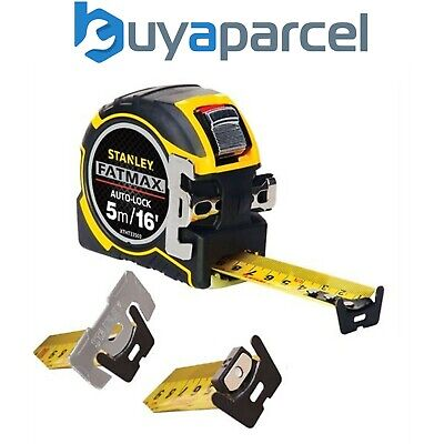Stanley 0-33-503 XTHT0-33503 Tape Measure FatMax Autolock 5m 16f Metric Imperial