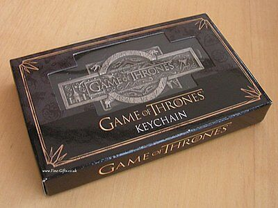 GOT Game of Thrones Title Logo Keychain Keyring - Game of Thrones Collectables
