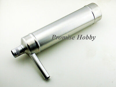 Clearance - aluminum canister muffler for DA50 DLE55 G62 50-70cc gas rc plane