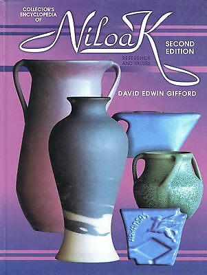 Niloak Art Pottery - Patterns Marks Dates / Illustrated Book + Values