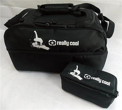 Really Cool Black Ski and Snowboard boot bag luggage + free Ski Goggle Case!!