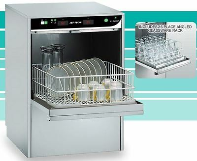 Jet Tech 727-E Compact HIGH-temp Undercounter Commercial Dishwasher (Electronic)