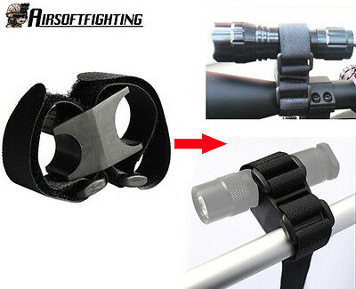 NEW Flashlight Holder Weapon Bracket Bicycle Mount Clip for XTAR LED SureFire A