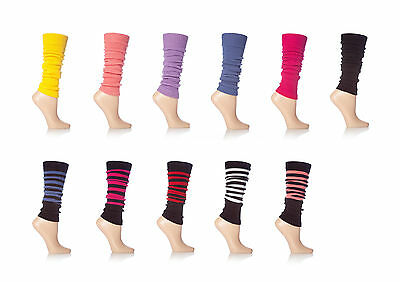 Ladies Fashion Dance Legwarmers Lots of Colours to Choose From!
