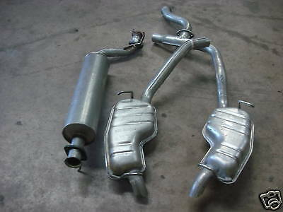 Range Rover P38 OEM 96-02 Centre & Rear Exhaust Boxes 4.0 4.6 V8 Double Kit
