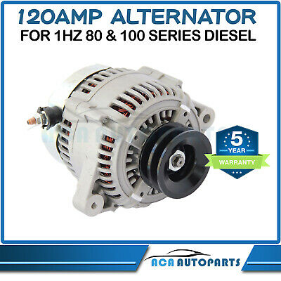 Alternator for Toyota Landcruiser HZJ75 79 HZJ80 HZJ105 1HZ 1PZ 1HDT 4.2L Diesel