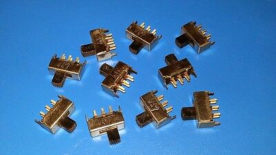 10 Pieces, Soundstream Replacement Switches For Old School Amps, NOS
