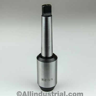 """3/8"""" Mt2 Morse Taper End Mill Tang Tool Holder Adapter End 2Mt"""