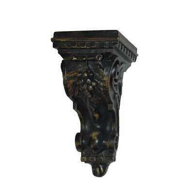 Hickory Manor Carved Grapes Bracket/BLACKBERRY - ABR1018BY
