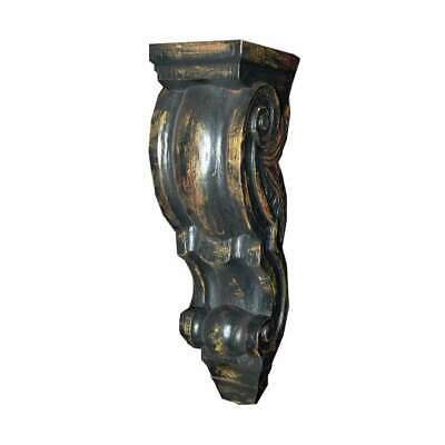 Hickory Manor Large Curved Corbel/Blackberry - ABR1001BY