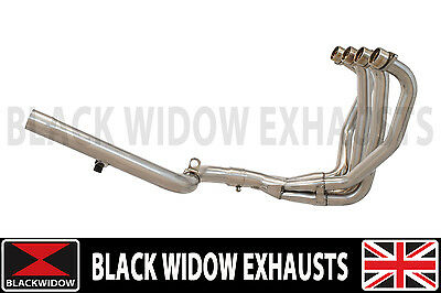 ZZR1100 ZZR 1100 ZX-11 ZX11 Exhaust Downpipes & Linkpipe 4-1 NEW DESIGN